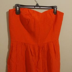 NEW LOFT Strapless Sweetheart Dress